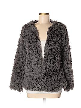 Full Tilt Faux Fur Jacket Size M