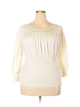 AK Anne Klein Pullover Sweater Size XL