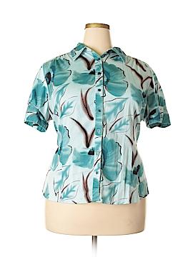 Apt. 9 Short Sleeve Button-Down Shirt Size 2X (Plus)