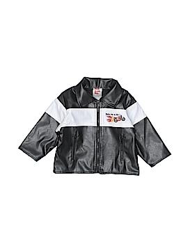 Park Bench Kids Faux Leather Jacket Size 18 mo