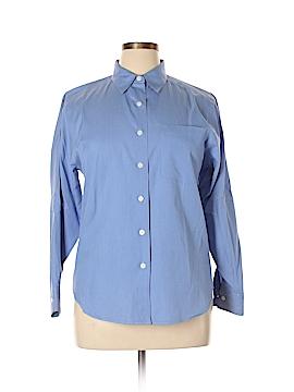 L.L.Bean Long Sleeve Button-Down Shirt Size 10