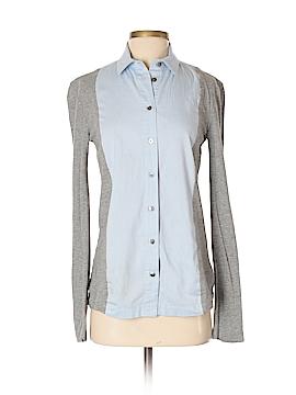 T by Alexander Wang Long Sleeve Button-Down Shirt Size XS