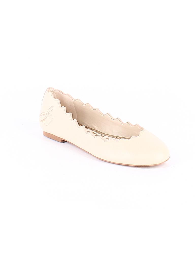 c8a4720f0f74 Sam Edelman Solid Tan Flats Size 5 1 2 - 69% off