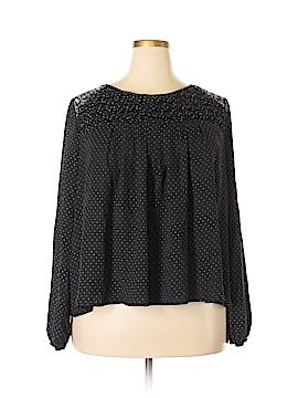 Xhilaration Long Sleeve Blouse Size XXL