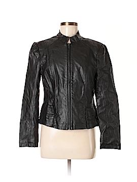Revue Faux Leather Jacket Size M