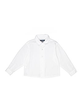 Mark Jason Long Sleeve Button-Down Shirt Size 4T
