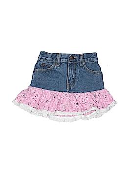 Kiddie Korral Denim Skirt Size 4