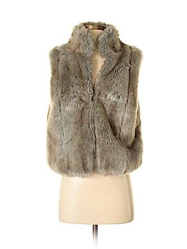 Elle Faux Fur Vest Size M