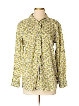 Rock Flower Paper Long Sleeve Button-Down Shirt Size S