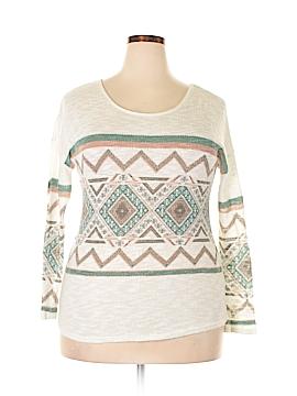 Entro Pullover Sweater Size L