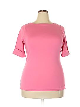 Lauren by Ralph Lauren Short Sleeve Top Size 1X (Plus)