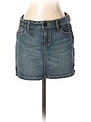 BCBGMAXAZRIA Women Denim Skirt 27 Waist