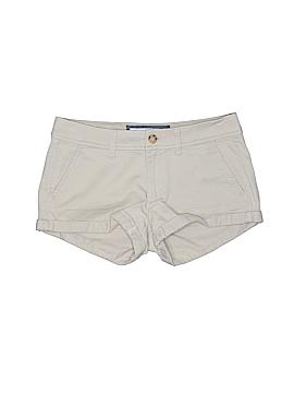 Abercrombie & Fitch Khaki Shorts Size 25 (Plus)
