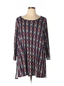 Philosophy Republic Clothing 3/4 Sleeve Top Size 2X (Plus)