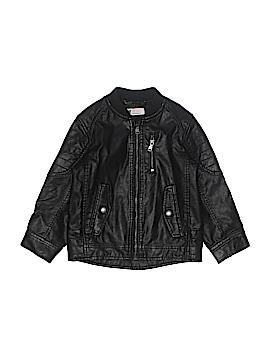 H&M Faux Leather Jacket Size 3/4