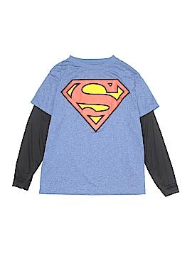 Superman Long Sleeve T-Shirt Size M (Kids)