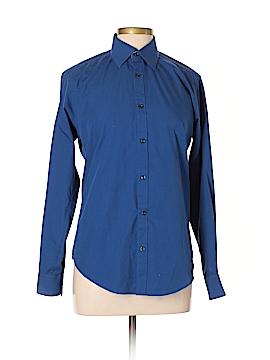 Nicole Miller Long Sleeve Button-Down Shirt Size M
