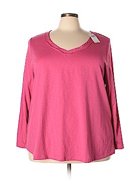 J.jill Long Sleeve T-Shirt Size 4X (Plus)