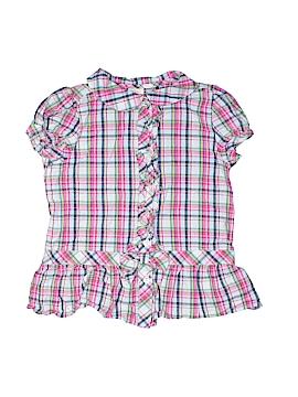 Gymboree Short Sleeve Button-Down Shirt Size 5