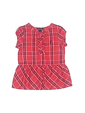 Nautica Short Sleeve Blouse Size 3T
