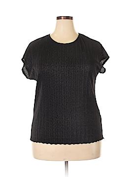 TanJay Short Sleeve Blouse Size 2X (Plus)