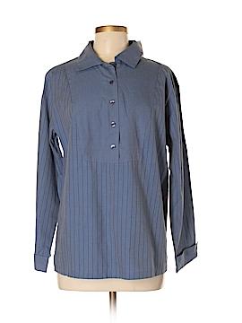 Dillard's Long Sleeve Button-Down Shirt Size S