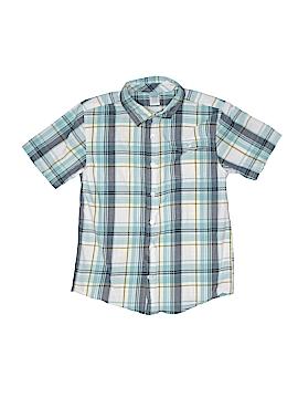 Gymboree Short Sleeve Button-Down Shirt Size 7 - 8