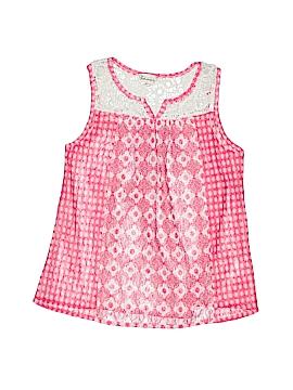 Ten Sixty Sherman Girls Sleeveless Blouse Size S (Kids)
