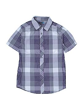 Tony Hawk Short Sleeve Button-Down Shirt Size S (Youth)