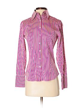 Express Design Studio Long Sleeve Button-Down Shirt Size 2