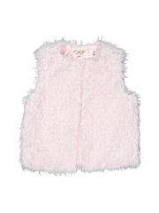 OshKosh B'gosh Girls Faux Fur Vest Size 4T - 5T