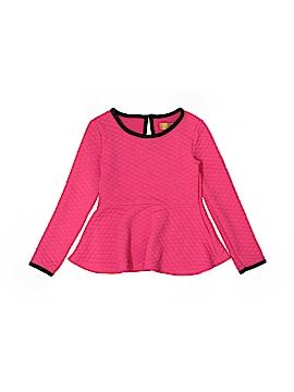 Nicole Miller Long Sleeve Top Size 6
