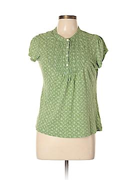 H&M L.O.G.G. Short Sleeve Henley Size L