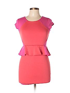 Nicole Miller Short Sleeve Top Size L