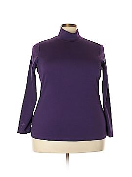 Laura Scott Long Sleeve T-Shirt Size 1X (Plus)