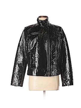Covington Faux Leather Jacket Size M