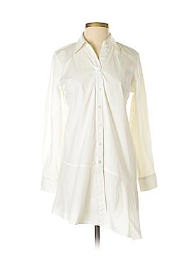Neiman Marcus Long Sleeve Button-Down Shirt Size XS