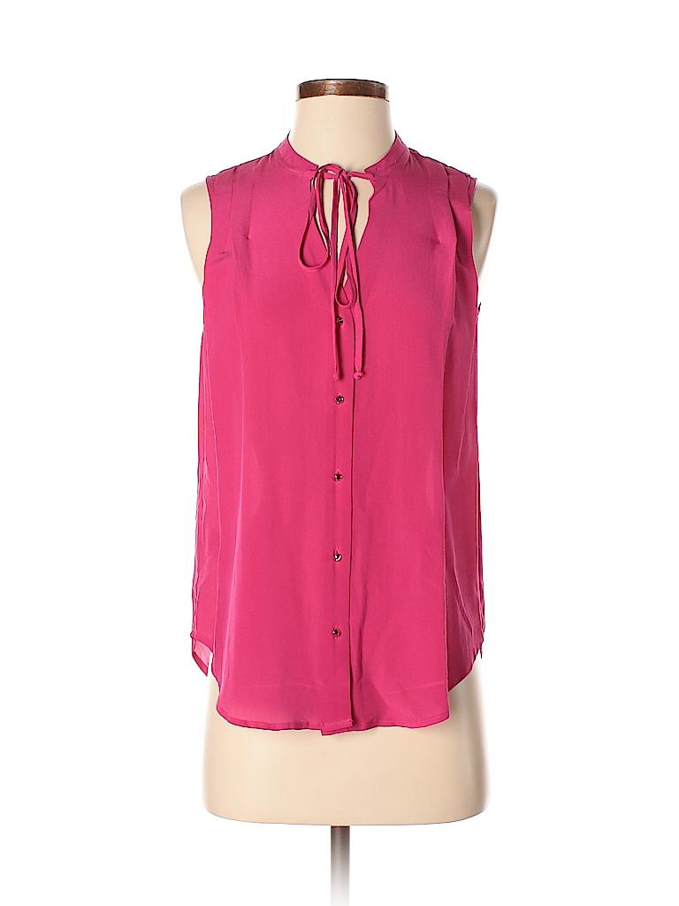 Daniel Rainn Women Sleeveless Silk Top Size XS