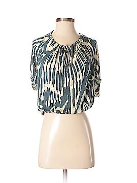 Velvet Short Sleeve Top Size P