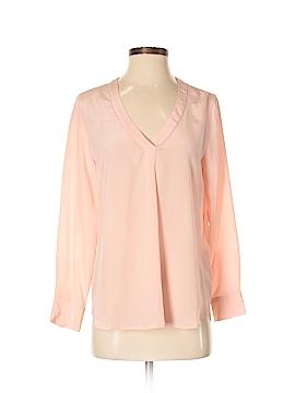 J. Crew Factory Store Long Sleeve Silk Top Size 6 (Petite)