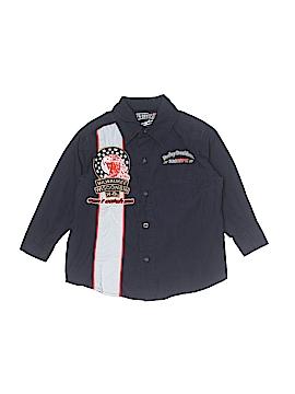Harley Davidson Long Sleeve Button-Down Shirt Size 3T
