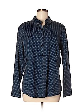 Eddie Bauer Long Sleeve Button-Down Shirt Size XL (Petite)