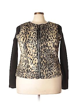 Ann Taylor Faux Fur Jacket Size XXL