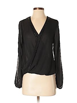 Francesca's Long Sleeve Blouse Size XS