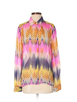Leifsdottir Long Sleeve Silk Top Size S