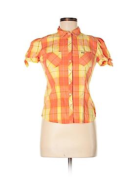 Le Tigre Short Sleeve Button-Down Shirt Size S