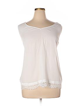 Boutique + Sleeveless Blouse Size 2X (Plus)