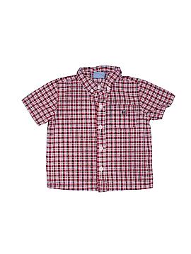 Koala Kids Short Sleeve Button-Down Shirt Size 18 mo