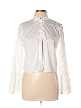 Zara Long Sleeve Button-Down Shirt Size L