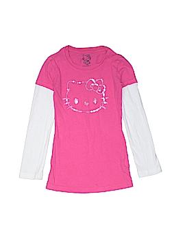 Hello Kitty Long Sleeve T-Shirt Size X-Small (Kids)